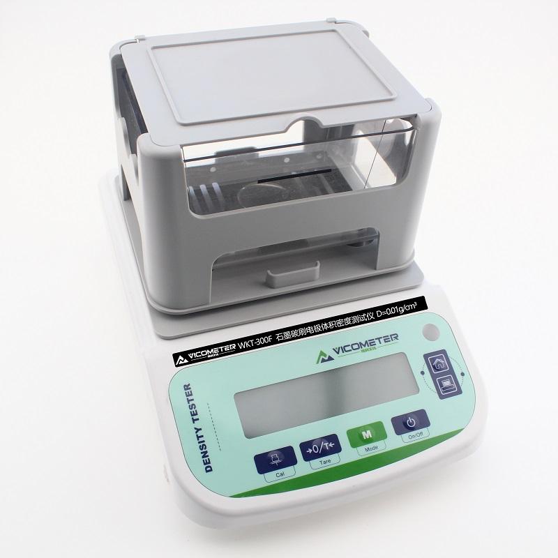 WKT-300F石墨碳刷电极体积密度测试仪