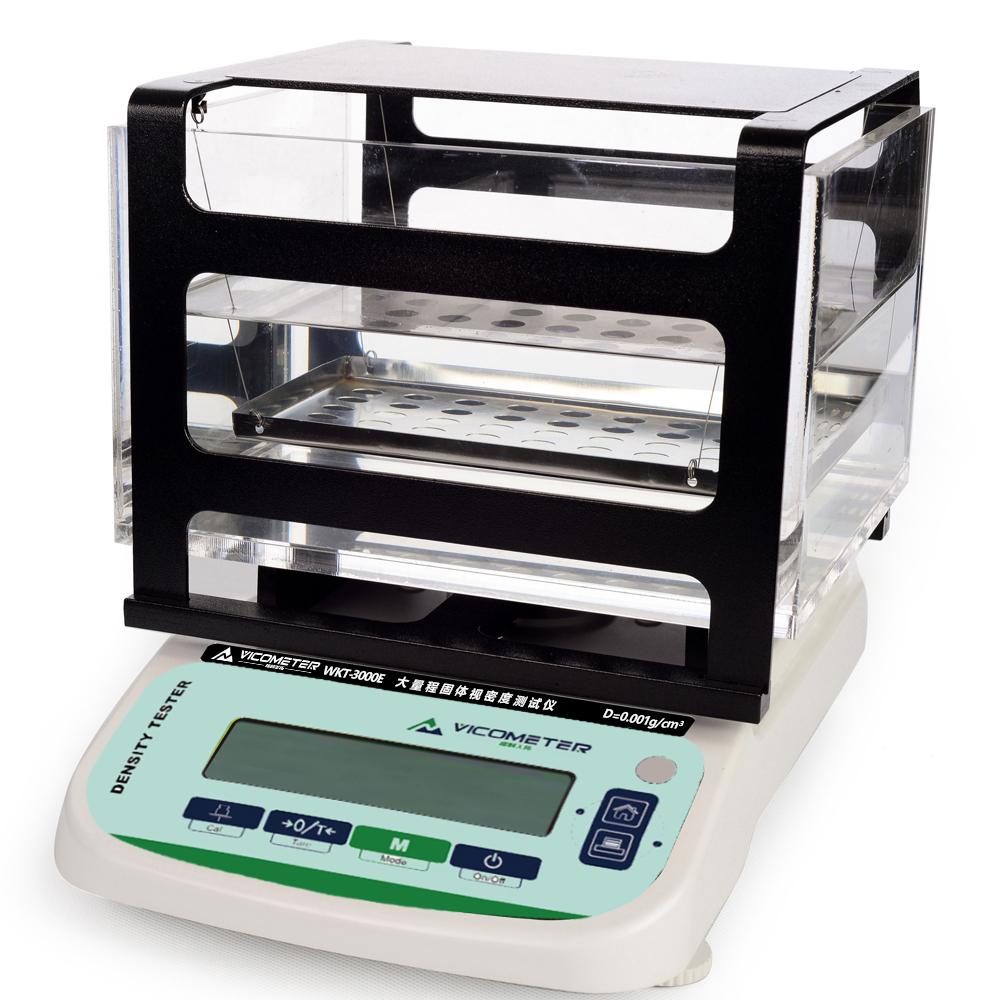 WKT-3000E大型物大量程固体视密度测试仪